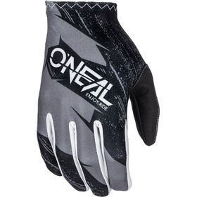 ONeal Matrix Gloves Youth BURNOUT black/gray
